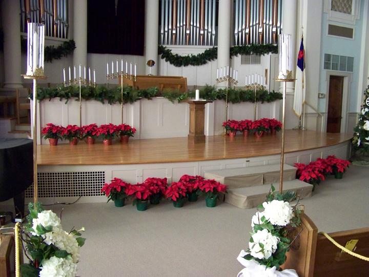 Church Sanctuary Wedding Decorations